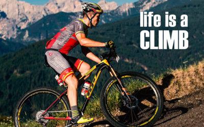 LIFE IS A CLIMB
