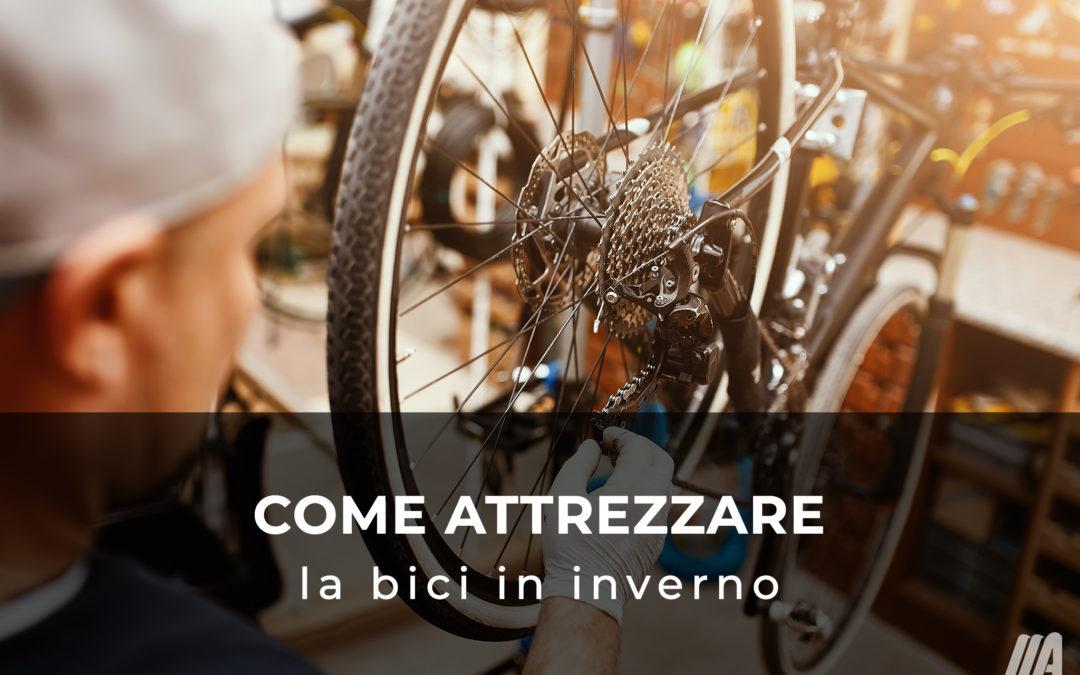 Come attrezzare la bici d'inverno