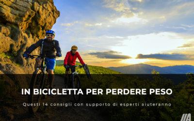 In bicicletta per la perdita di peso? 14 Consigli Utili
