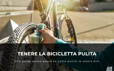 Una guida passo-passo su come pulire una bici