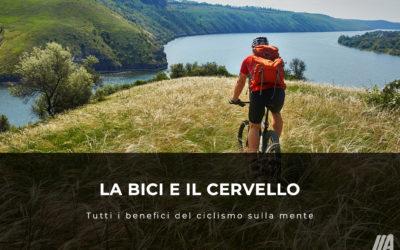 La bici e il cervello: tutti i benefici del ciclismo sulla mente