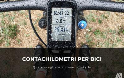 Contachilometri per bici: quale scegliere e come montarlo