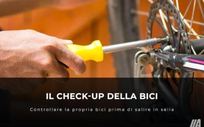 Il check-up della bici prima di un'uscita