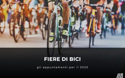 Fiere di bici: gli appuntamenti per il 2020