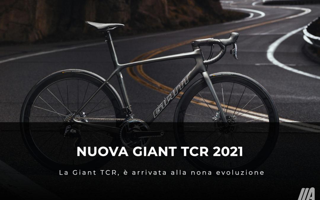 Nuova Giant TCR 2021 – La Giant TCR, è arrivata alla nona evoluzione