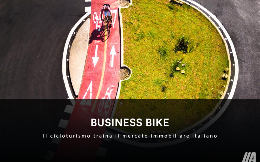 BUSINESS BIKE – Il cicloturismo traina il mercato immobiliare italiano