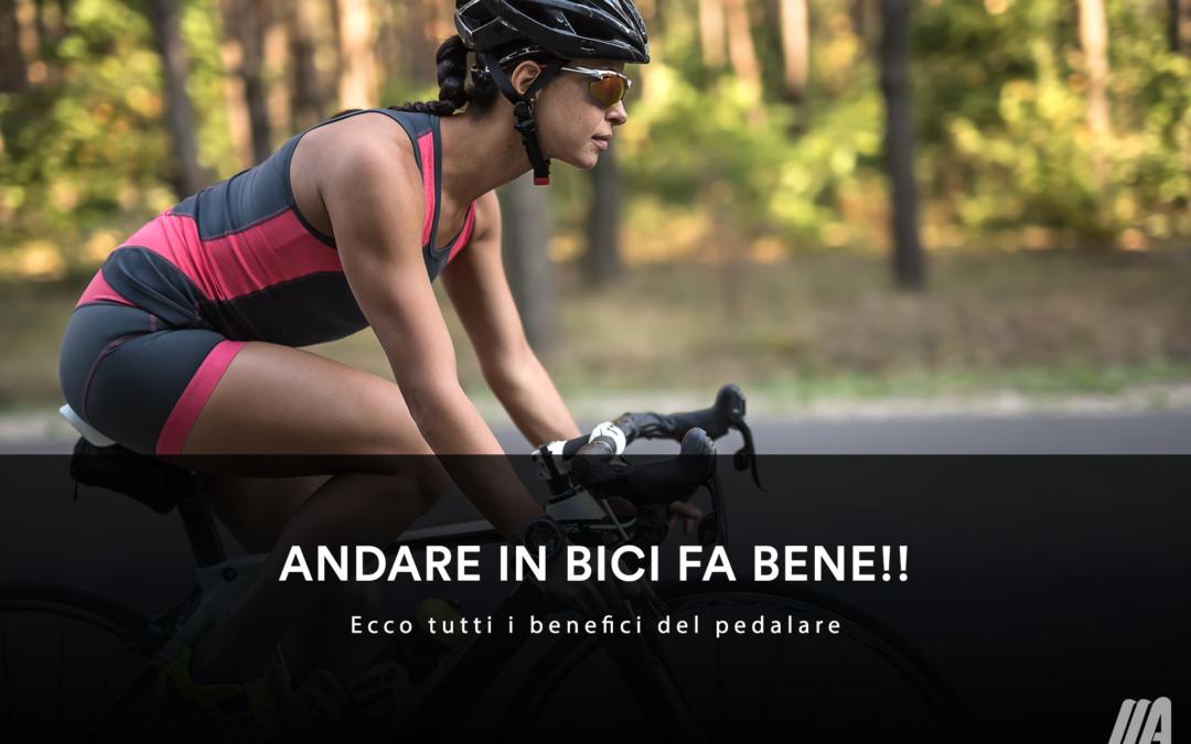 """""""Andare in bici fa bene a.."""" – Ecco tutti i benefici del pedalare!"""