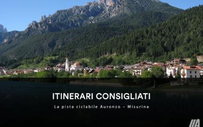 ITINERARI CONSIGLIATI – La pista ciclabile Auronzo–Misurina